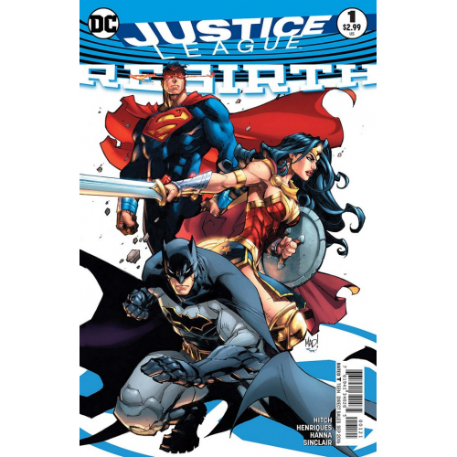 Justice League Rebirth 1 (Variant Cover)