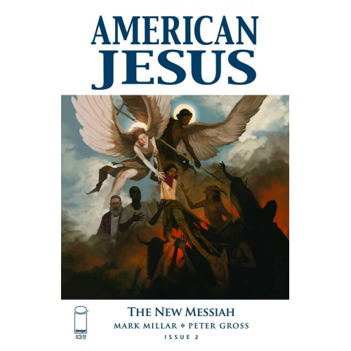 AMERICAN JESUS NEW MESSIAH 2 CVR A TOP SECRET (VO)