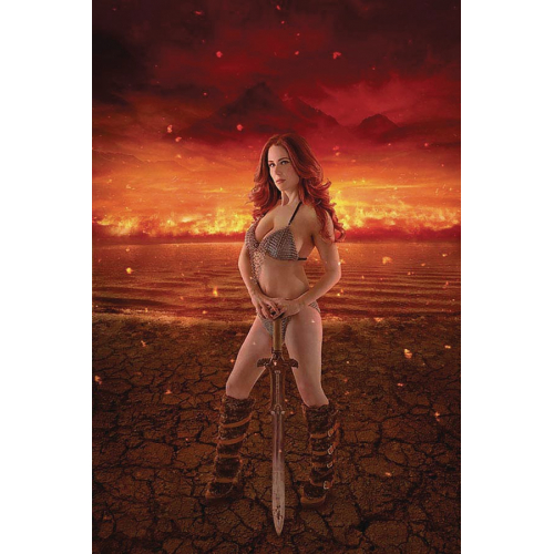 RED SONJA AGE OF CHAOS 1 30 COPY COSPLAY VIRGIN INCV (VO)