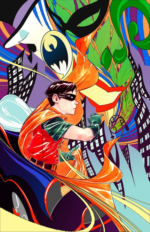 ROBIN 80TH ANNIVERSARY 100-PAGE SUPER SPECTACULAR 1 1960s variant DUSTIN NGUYEN (VO)