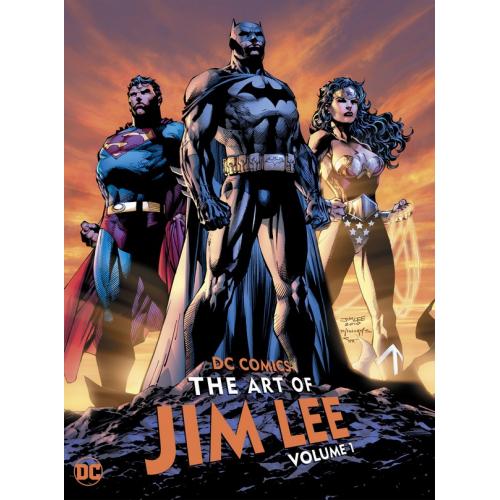 DC COMICS: THE ART OF JIM LEE VOL. 1 HC (VO)
