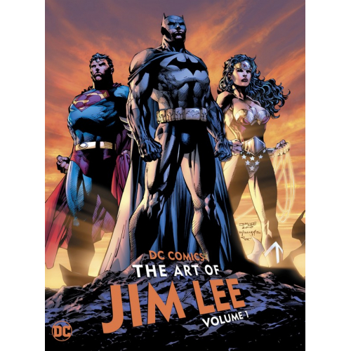 DC COMICS: THE ART OF JIM LEE VOL. 1 HC (VO)