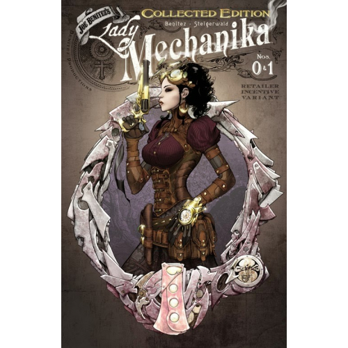 LADY MECHANIKA 0 & 1 COLLECTED RETAILER INCENTIVE (VO)