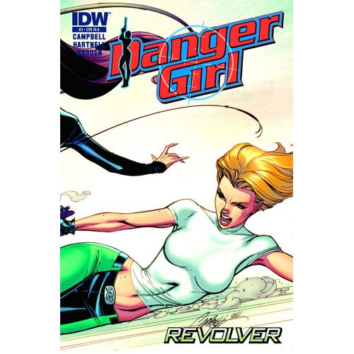 DANGER GIRL REVOLVER 3 (OF 4) (VO)