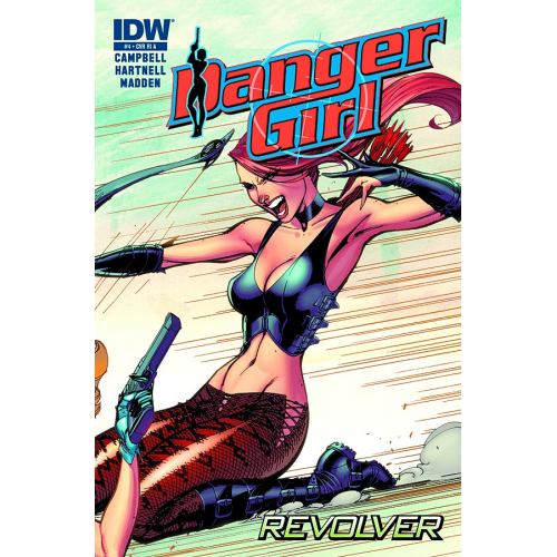 DANGER GIRL REVOLVER 4 (OF 4) (VO)