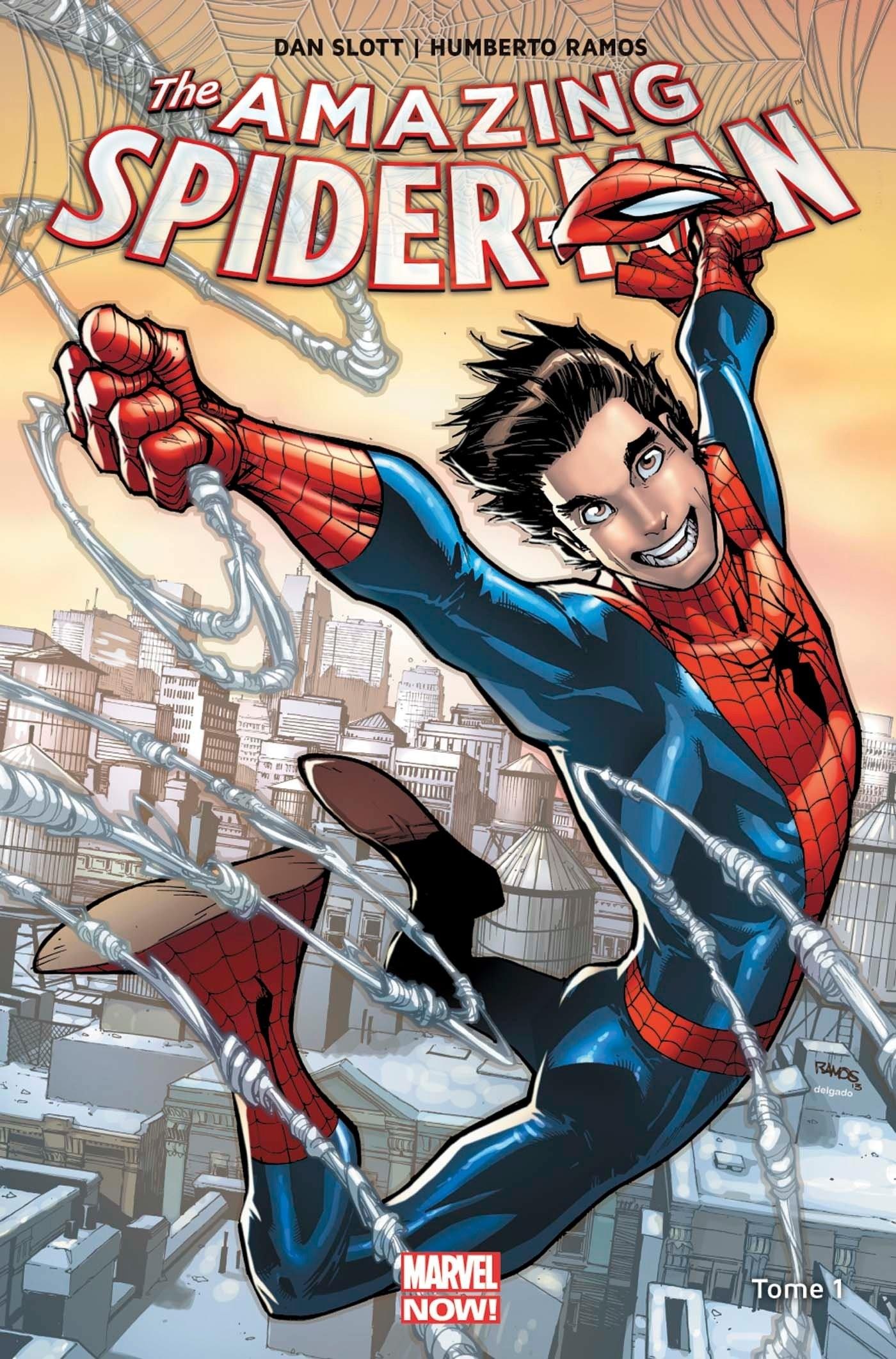 AMAZING SPIDER-MAN MARVEL NOW T01 (VF) cartonné