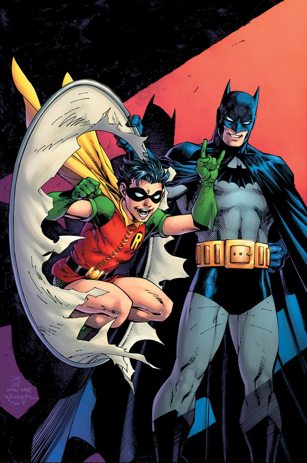 ROBIN 80TH ANNIVERSARY 100-PAGE SUPER SPECTACULAR 1 1940s variant JIM LEE and SCOTT WILLIAMS (VO)
