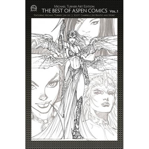 TURNER ART ED BEST OF ASPEN COMICS VOL 01 CVR A (VO)
