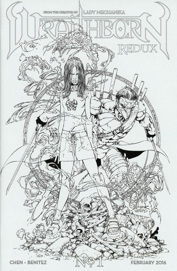 Wraithborn 1 Variant Cover