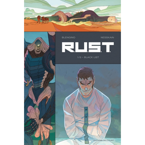 R.U.S.T. Tome 1 - Black List (VF) occasion