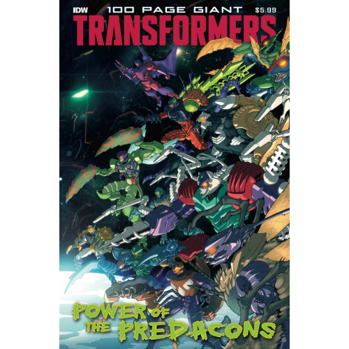 TRANSFORMERS 100 PAGE GIANT POWER PREDACONS (VO)