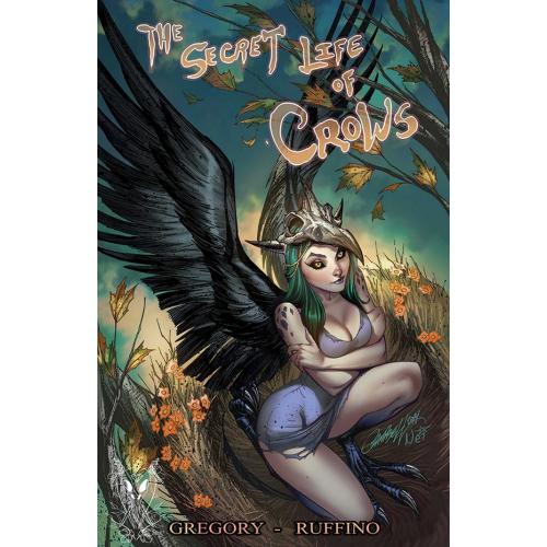 CARTE POSTALE Secret Life of Crows - J. Scott Campbell