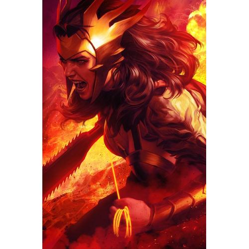 DARK NIGHTS : DEATH METAL 1 (VO) Wonder Woman Variant - Artgerm