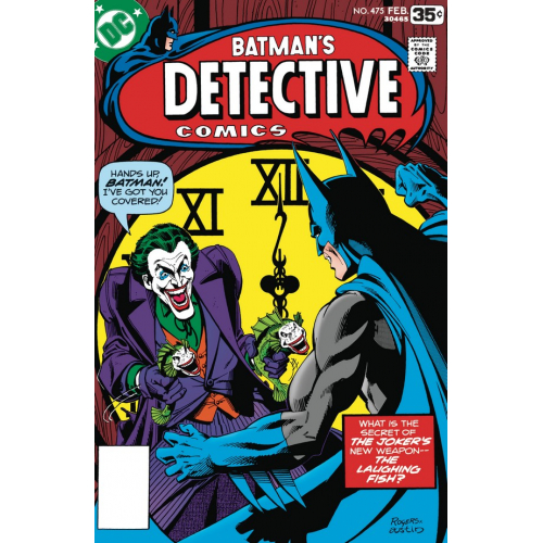 DETECTIVE COMICS 475 FACSIMILE EDITION(VO)