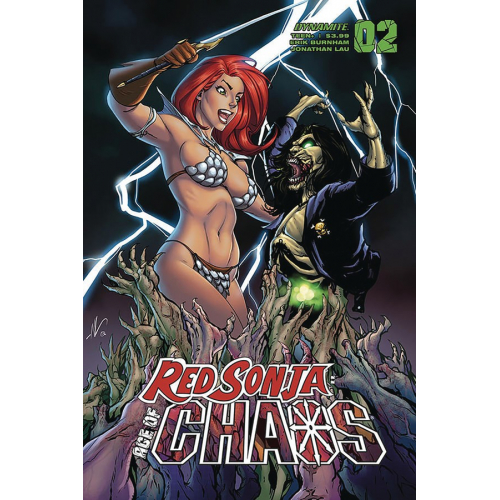 RED SONJA AGE OF CHAOS 2 CVR D GARZA (VO)
