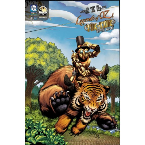 The Legend of Oz : Tick tock & Kalidah 2 (Cover A)