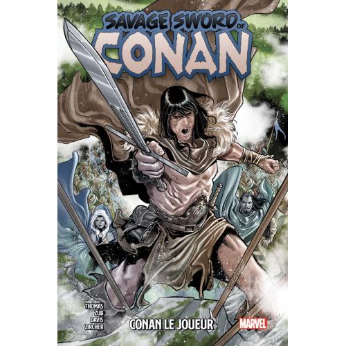 SAVAGE SWORD OF CONAN TOME 2 (VF)