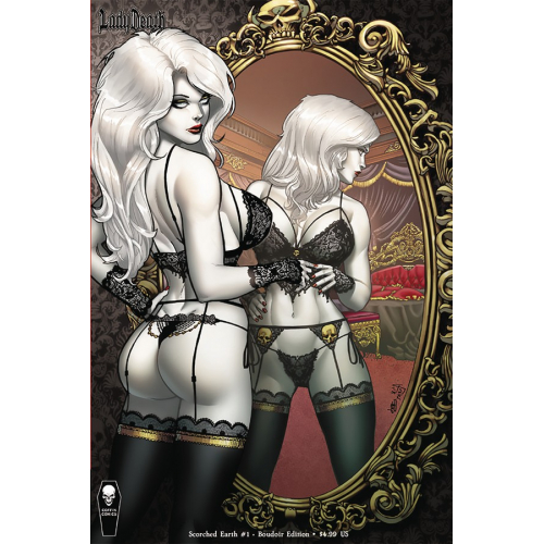 LADY DEATH SCORCHED EARTH 1 (OF 2) BOUDOIR ED (VO)