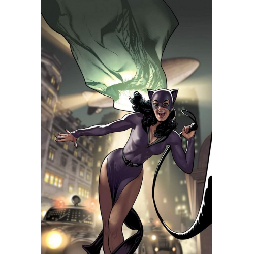 CATWOMAN 80TH ANNIVERSARY 100-PAGE SUPER SPECTACULAR 1 (VO) 1940 - ADAM HUGHES