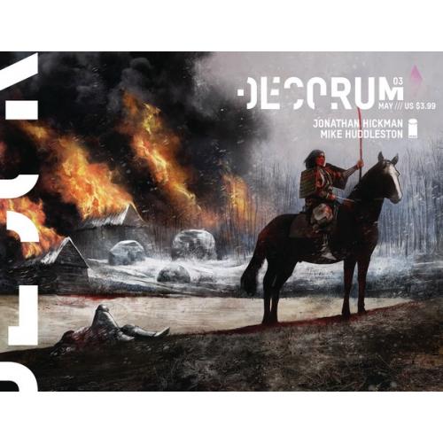 DECORUM 3 CVR A HUDDLESTON (VO) Jonathan Hickman