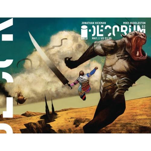 DECORUM 3 CVR B HUDDLESTON (VO) Jonathan Hickman