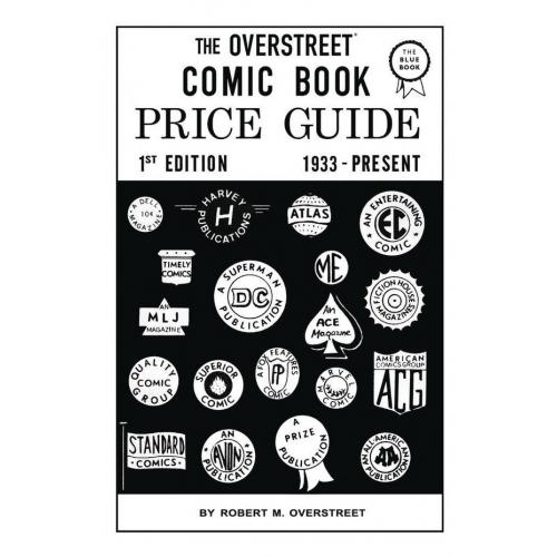 OVERSTREET COMIC BOOK PRICE GUIDE 1 FACSIMILE ED SC