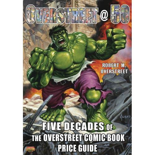 OVERSTREET 50 - 5 DECADES OVERSTREET CBPG HC (VO)