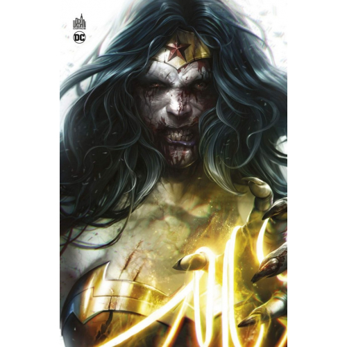 DCEASED TOME 1 (VF) COUVERTURE WONDER WOMAN ZOMBIE