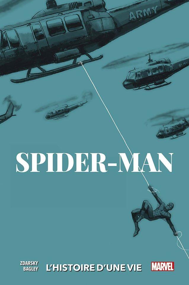 SPIDER-MAN : L'HISTOIRE D'UNE VIE (VF) Couverture Variante 1