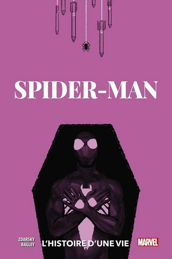 SPIDER-MAN : L'HISTOIRE D'UNE VIE (VF) Couverture Variante 3