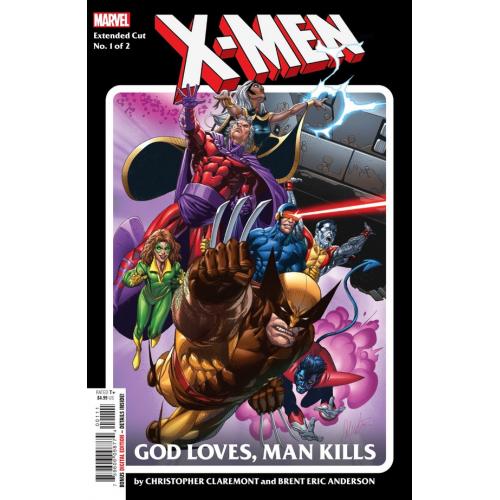 X-MEN GOD LOVES MAN KILLS EXTENDED CUT 1 (OF 2) (VO)