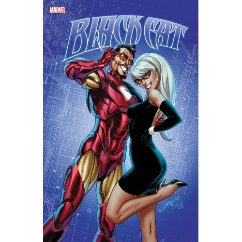 BLACK CAT 12 (VO) J. Scott Campbell Cover