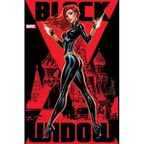 BLACK WIDOW 1 (VO) J. Scott Campbell Cover