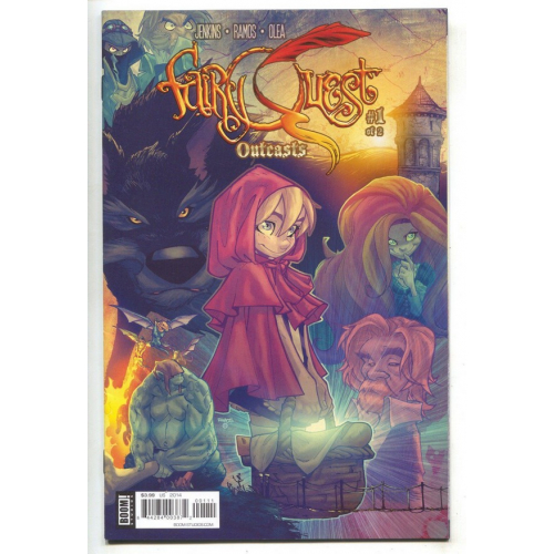 FAIRY QUEST OUTCASTS 1 (VO)