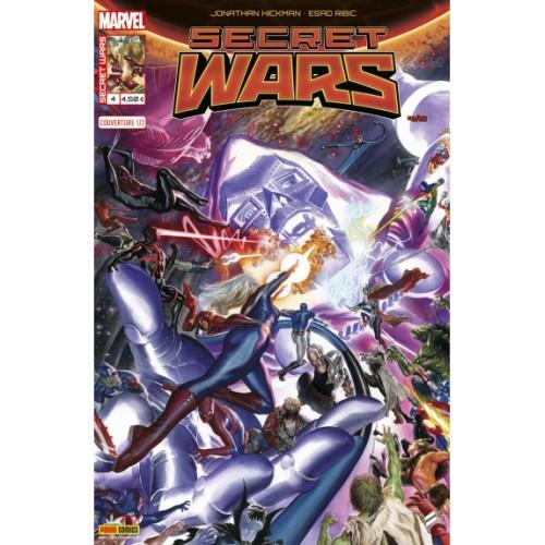 SECRET WARS 4 (VF) couverture 1 Alex Ross