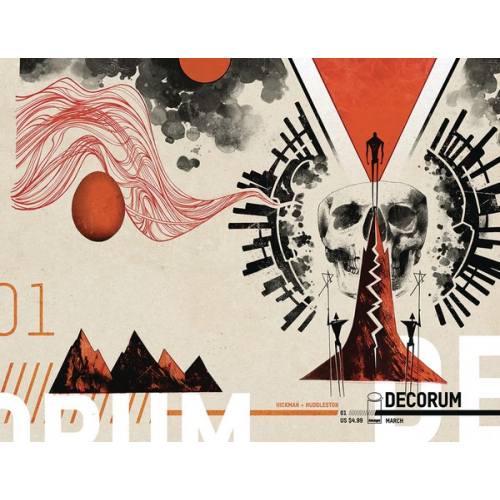 DECORUM 1 (OF 8) CVR B HUDDLESTON (VO) Jonathan Hickman