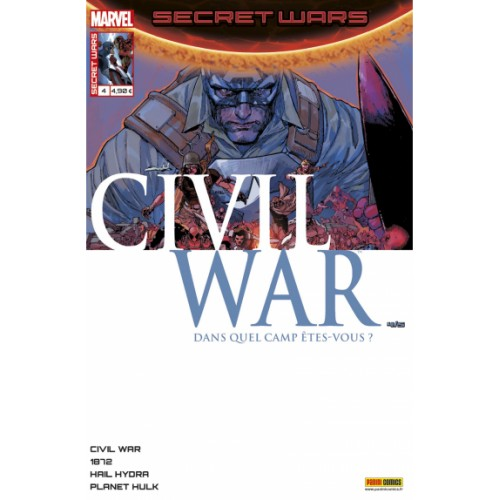 SECRET WARS : CIVIL WAR 4 (VF)