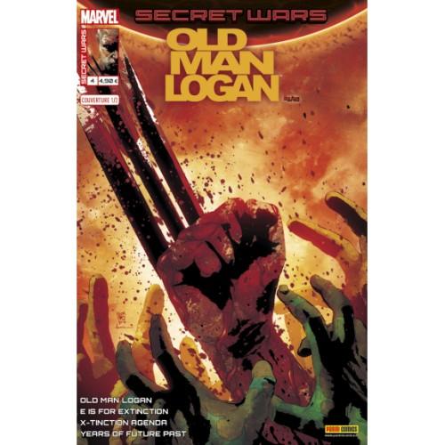 SECRET WARS : OLD MAN LOGAN 4 (VF) couverture 01 andrea Sorrentino