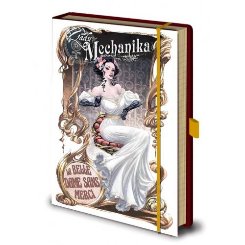 NOTEBOOK LADY MECHANIKA 001