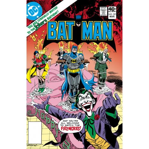 BATMAN 321 FACSIMILE EDITION (VO)
