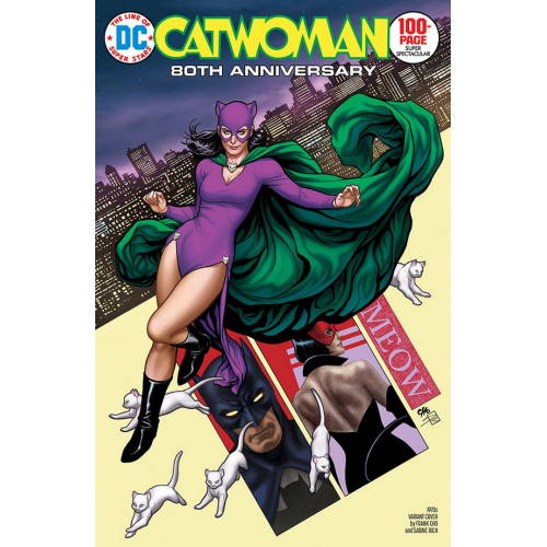 CATWOMAN 80TH ANNIVERSARY 100-PAGE SUPER SPECTACULAR 1 (VO) 1970 - FRANK CHO