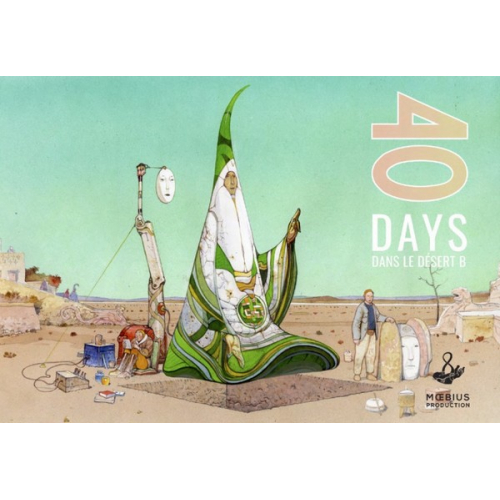 40 DAYS DANS LE FUTUR B - MOEBIUS - VF