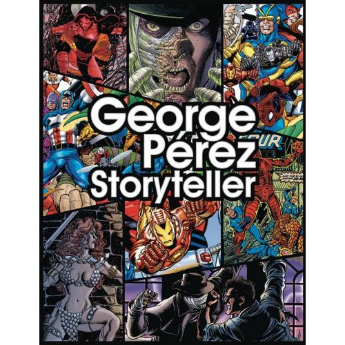 GEORGE PEREZ STORYTELLER 35TH ANNV ED HC (VO)