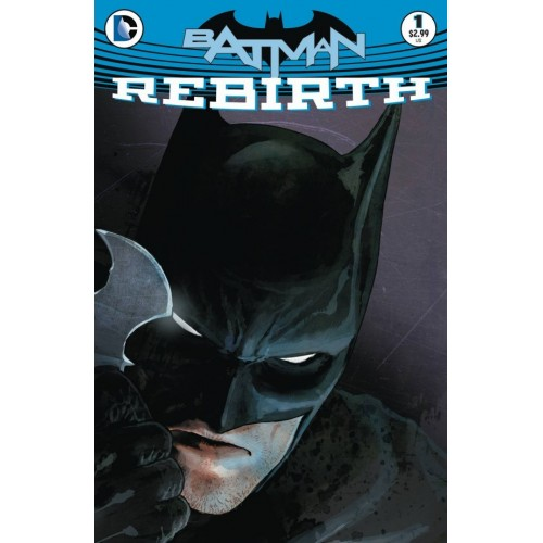 Batman Rebirth 1- (First print)