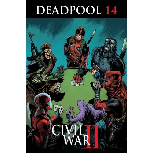 Deadpool 14 (VO) CIVIL WAR II TIE-IN