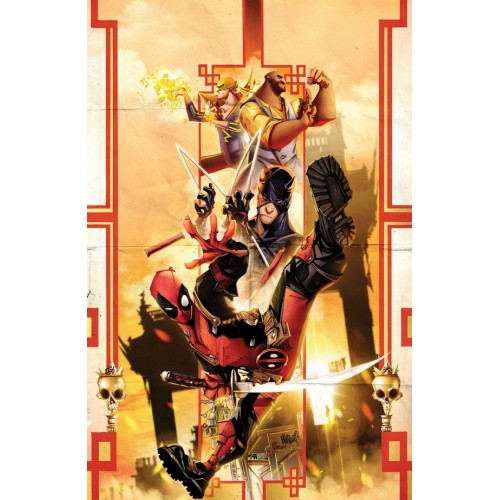 Deadpool 13 (VO) 96 pages Crossover