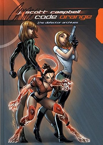 Code Orange - Artbook - J. Scott Campbell (2008)