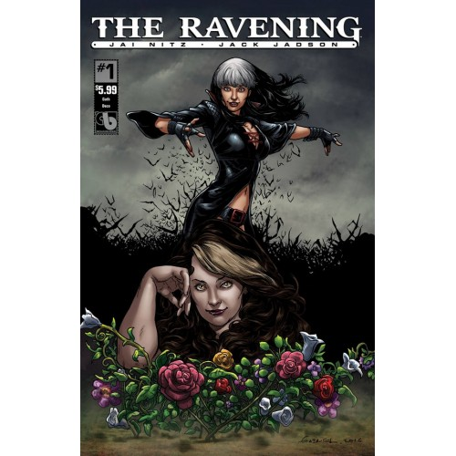 The Ravening 1 (Goth Deco Cover) (VO)