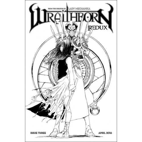 Wraithborn Redux 3 Rare Incentive Variant Cover (VO)