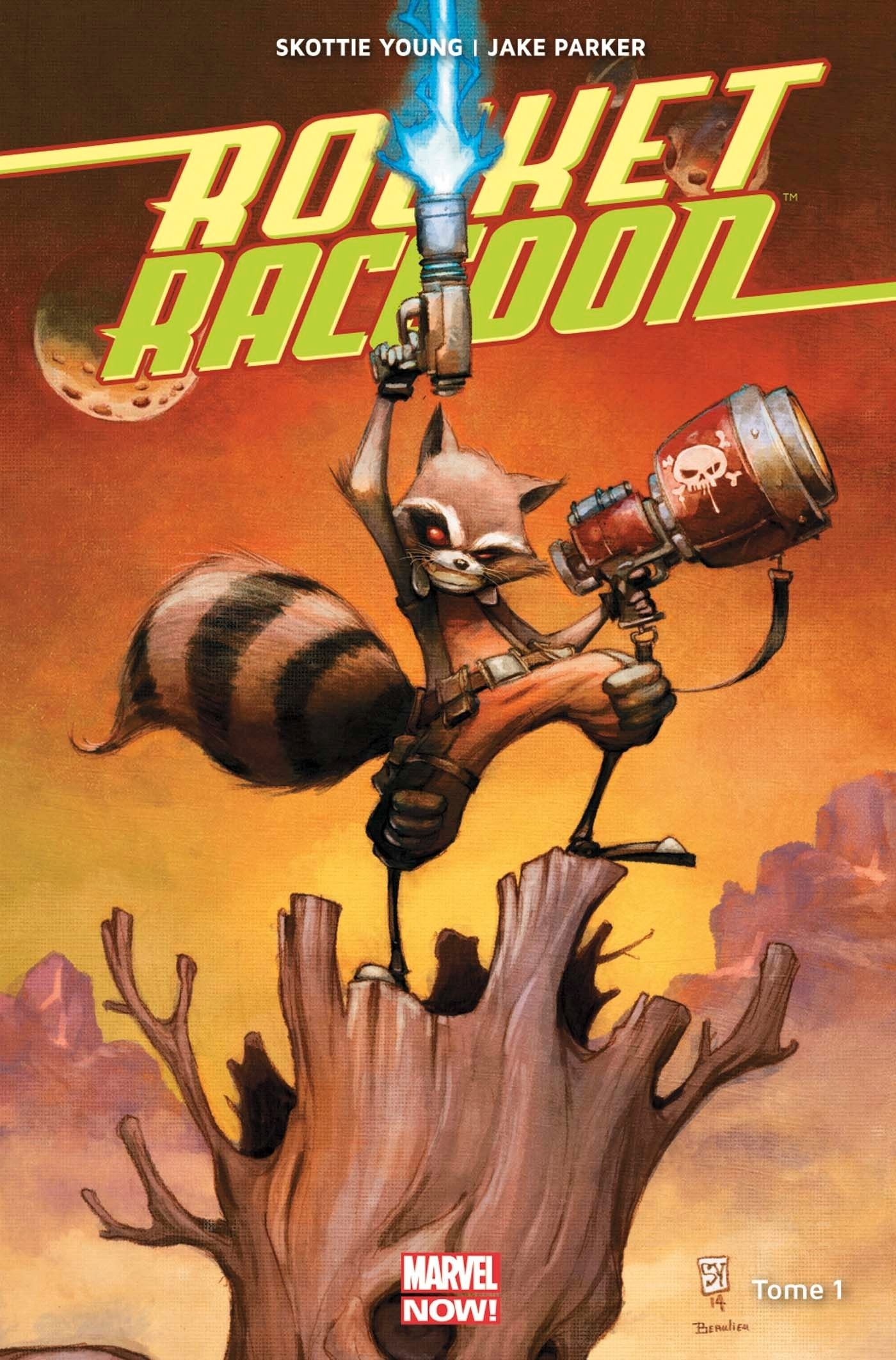 ROCKET RACCOON MARVEL NOW T01 (VF) cartonné